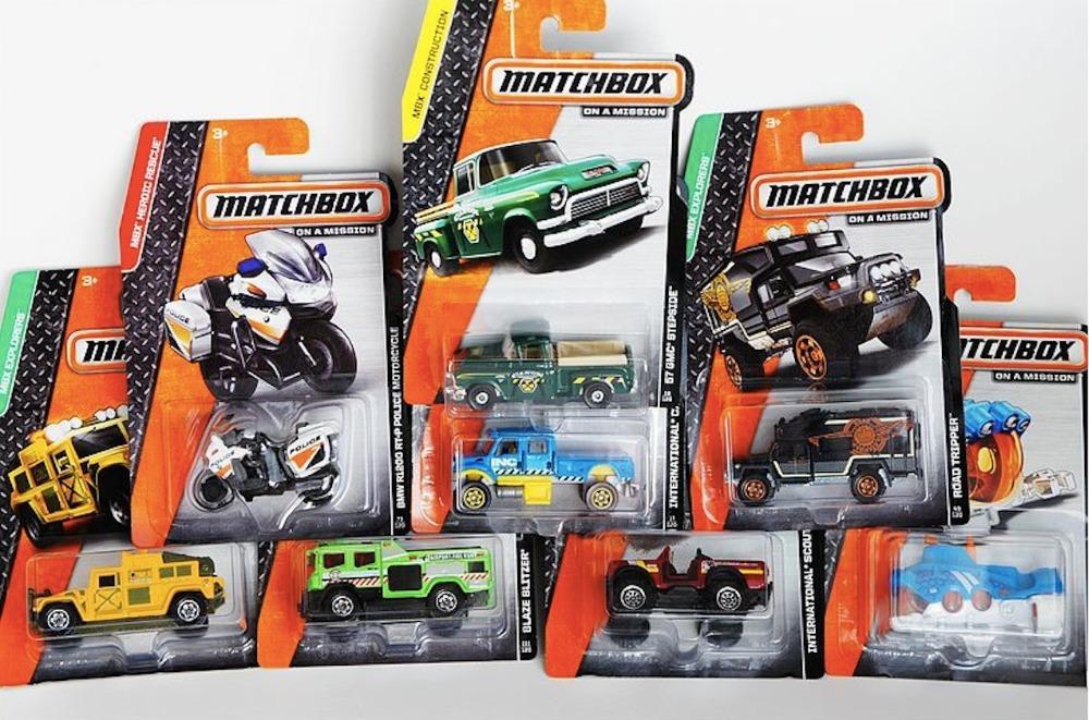 Matchbox Toy Cars 2015
