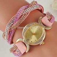 Holiday sale 2014 new arrival Genuine Cow leather watch Men Women ladies fashion dress wrist watch