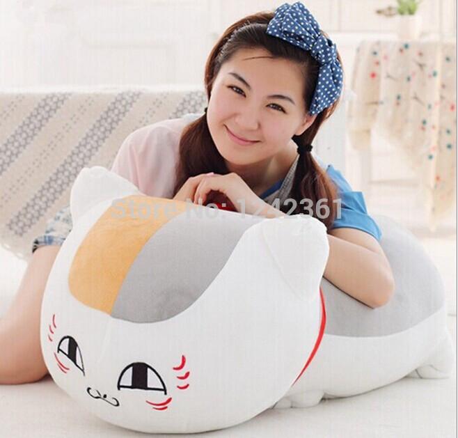 12INCH Natsume's Book of Friends Yujinchou Nyanko Sensei Cat Plush Toys Doll Pillow BIRTHDAY GIFT CHRISTMAS GIFT(China (Mainland))