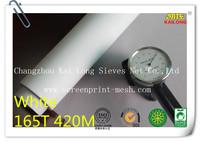 "Free Shipping 5 meters (5 yards) White 165T 420mesh-31 width:127cm(50"")  Monofilament Silk Screen Printing Mesh PW"