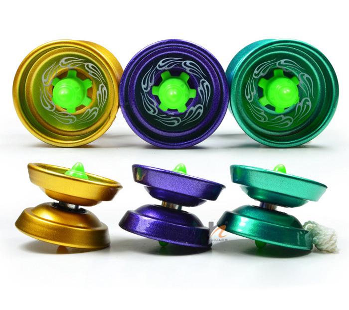 Aluminum Design Professional YoYo Ball Bearing String Trick Alloy Kids Free Shipping(China (Mainland))
