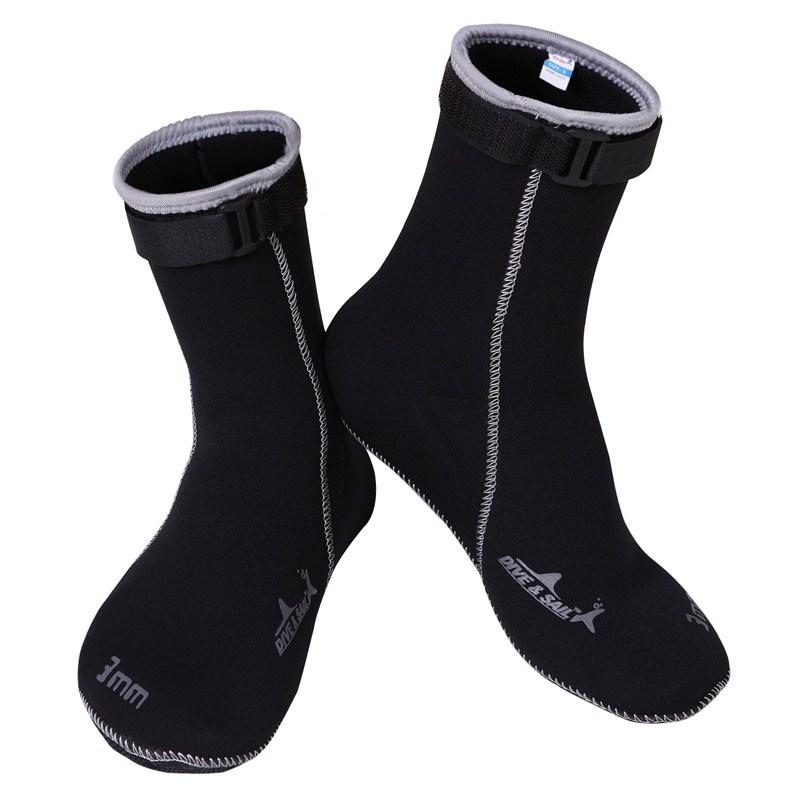 Brand 3MM Neoprene Scuba diving socks High elastic Snorkeling Boots Non-slip Keep warm Shoes Seaside Wetsuit Wet suits Men swim(China (Mainland))
