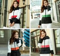Big Promotion New Fashion Winter New style Slim medium long Thickening Collar Down Jacket coat Parkas women