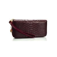 Dream on 2014 Korean version of the new women's handbag chain bag small Skull Leather Ladies Zipper Wallet