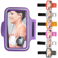 Phone Case Sports Running Jogging Gym Armband Arm Band Case Cover Holder For Apple Iphone 6 S3 S4 Free shipping & Drop shipping