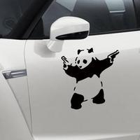 Panda car stickers removable waterproof wall stickers door sticker rear window reflective mirror rear view stickers wall Vinyl