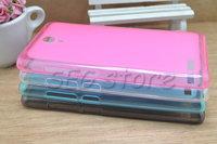 free shipping Case for xiaomi hongmi note Simple Pudding TPU soft back case protect for xiaomi hongmi 2 four-color MOQ 10PCS/lot