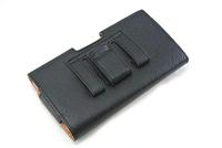 200pcs/lot  Protable leather Waist Hang Phone Case For Asus Zenfone 5