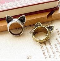 Fahion Vintage Cat Rings 2014 Fashion Jewelry For Women B4R7C