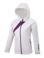 Outdoor skiing women jacket 2014 windstopper softshell jacket women white  sport snow skiing jacket