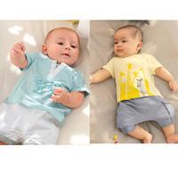 2014 New Summer boys Clothing Set Children's Short Sleeve T-shirt  Pants Baby Boys Clothes K6235