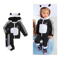 2014 New Autumn Boys Clothes Casual Long Sleeve Cartoon little Hooded Pants Boys clothing sets  K6338