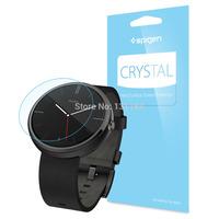 Original Spigen Premium Crystal Clear Screen Protector for Motorola Moto 360
