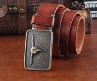 Genuine Leather  Belts For Men Luxury Mens Belt Casual Vintage Brand Buckle Cinto Masculino Ceinture Man Cintos 2014 MBT0236