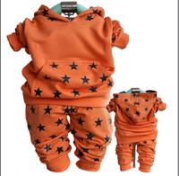 new 2014 boys star casual sport clothing sets 2pcs kids clothes sets boys spring autumn sport suit baby clothing set set boy