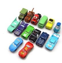 Free Shipping Anime Cartoon Pixar McQueen Cars Mini Quality Vinyl Action Figure Model Toys Classic Toys 14pcs/set brinquedos(China (Mainland))