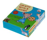 *DHL free shipping 6pc/lot If you give a Mouse a Cookie children reading books
