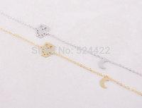 Min 1pc Gold and Silver Night Owl Bracelet Cute Animal Jewelry SL011
