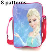 2014 latest frozen elsa and anna bag. frozen girl  messenger bag.anna cross body bag for christmas gift. gift for baby birthday