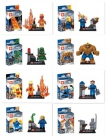 Action figures SY167 Super Heroes Avengers fantastic Four and Fantastic Four starnger Minifigures building Blocks Toys
