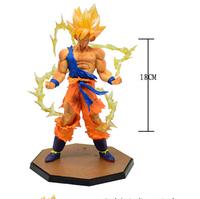 IACG animation around Goku Super Saiyan Dragon Ball wholesale transfiguration model toy doll hand to do battle  BJ494