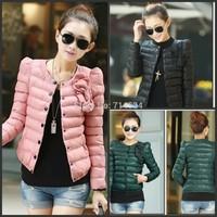2013 NEW Fashion women Winter jacket  clothing  short  overcoat