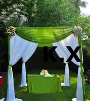 2M*2M Four Corner Wedding Backdrop Curtain Wedding Drape