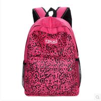 2014 European and American fashion shoulder bag backpack schoolbag