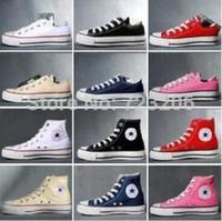 2014 new women men sneaker All size Chuck High huarache star Shoe wedge Sneaker Flat canvas casual boots new lace first walker