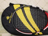 2014 Superdeals tennis rackets rafael nadal ARRO tennis racket high quality carbono tennis rackets string strung with tennis bag