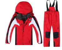 2014 new High quality children Skiing Wears Skiing Suits jacket outdoor sportswear suit mountaineering