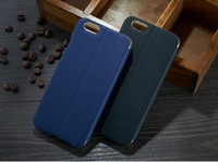 Luxury mobile phone bags for iphone 6 plus case leather flip and 2pcs screen protector for iphone 6 plus 5.7 mobile phone