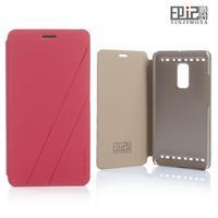 Elegant mobile phone case for bbk vivo xplay 3s case leather flip and 2pcs screen protector for vivo xplay black x5201 phone