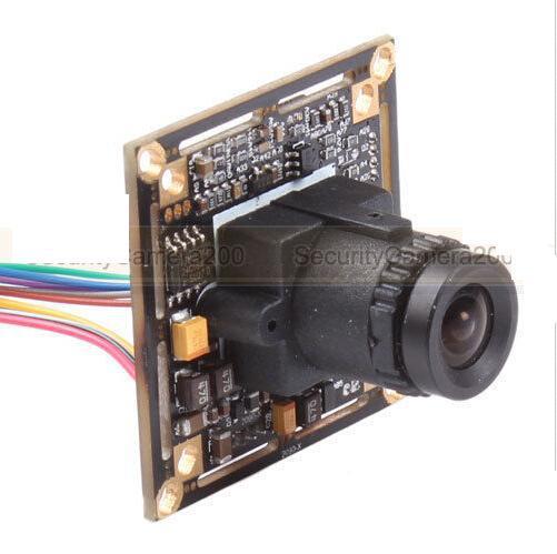 HD 700TVL CCTV Color Board Camera 1/3 Inch SONY CCD D-WDR w/ OSD Menu BNC Output(China (Mainland))