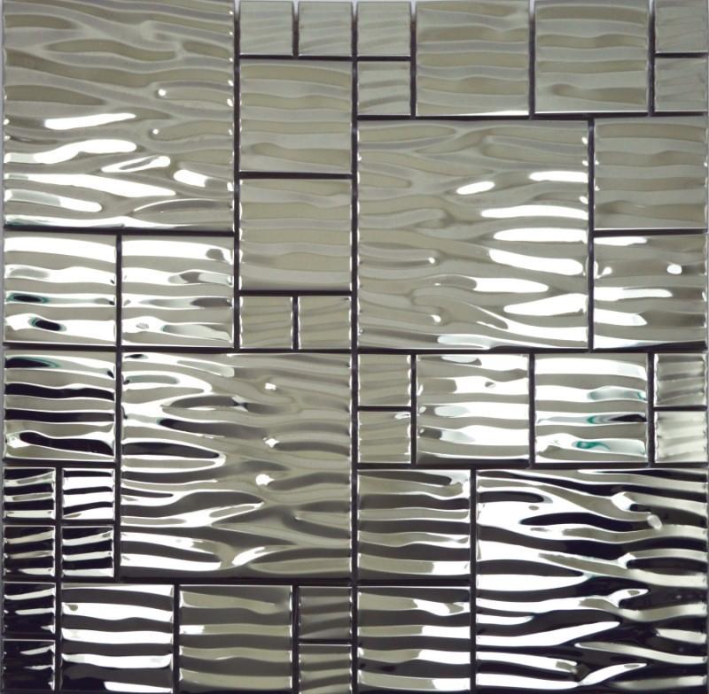 online kaufen gro handel silber mosaik fliesen aus china. Black Bedroom Furniture Sets. Home Design Ideas