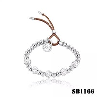 2014 hot sale New White Gold Rose gold Plated stainless steel rhinless Bracelets & Bangle For Women Jewelry Accessory