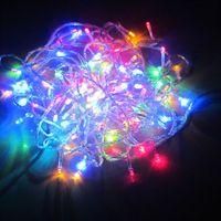 100pcs LED 10M Multi Color LED String Fairy Lights Christmas Wedding Garden Party Lamp B10009