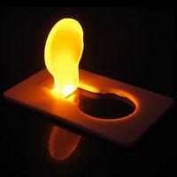 Portable LED Card Light Credit Card Size Wallet Size Pocket Card Light W/Battery ZS01078