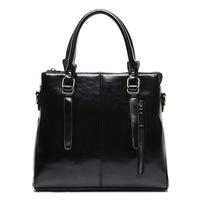 2014 high quality leather female bag women handbag simple shinny leather messenger bag handbags famous brand