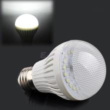 Discount led light E27 Cold/Warm White Night Lamp Bulb 7W Saving Home Garden 1 pcs Bedroom Energy Efficient Spotlight B18(China (Mainland))