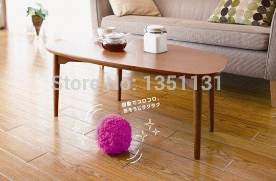 Mocoro Robotic Microfiber Mop Ball Mini Vacuum Cleaner Four Colors Mop Ball Free shipping(China (Mainland))