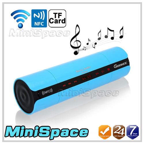 Аудио колонка Bluetooth + NFC + TF KR-8800 bluetooth speaker цена и фото