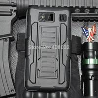 Heavy Duty Armor phone case for Motorola XT925 Stand Case Cover For Moto X XT926 phone cover case for Motorola XT926