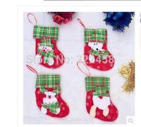Christmas decorations christmas socks with various design
