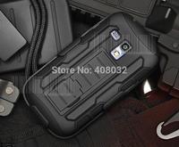 Heavy Duty Armor phone case for samsung galaxy s3 mini Stand Case Cover For i8190 phone cover for samsung galaxy s3 mini