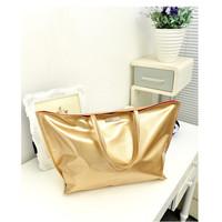 Fashion women's handbag 2014 fashion brief shoulder bag golden silver serpentine pattern for Crocodile big bags large capacity