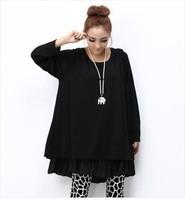 XXXXL Plus Size Winter Casual Dress,Handmade Crochet Sweater Dress,Vestido Informal,Long Sleeve Pregnant Dress Large Size