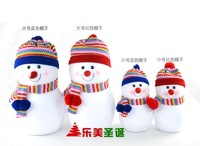 35cm Large christmas snowman doll,Children's Christmas mystery gift, Christmas decoration supplies,Boutique gift, Free Shipping