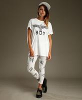 S-XXXL Plus size Men Women BOY LONDON eagle printed short sleeve cotton PUNK MAN t-shirts couple clothes BB9001