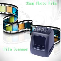 "2.36"" TFT LCD 5MP CMOS 35mm Film Scanner with SD/MMC + Mini USB"